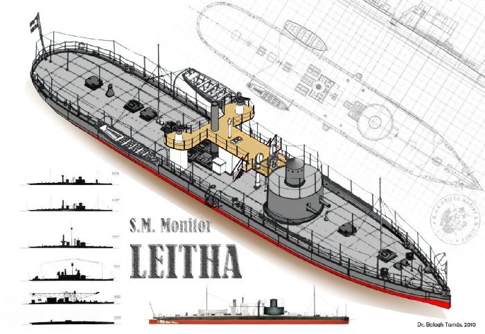 Az S.M.S. Leitha átépítései